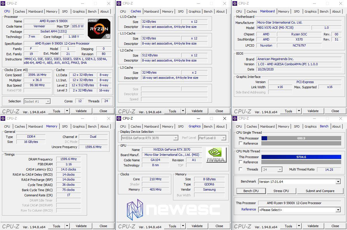 REVIEW AMD RYZEN 5900X EQUIPO DE PRUEBAS