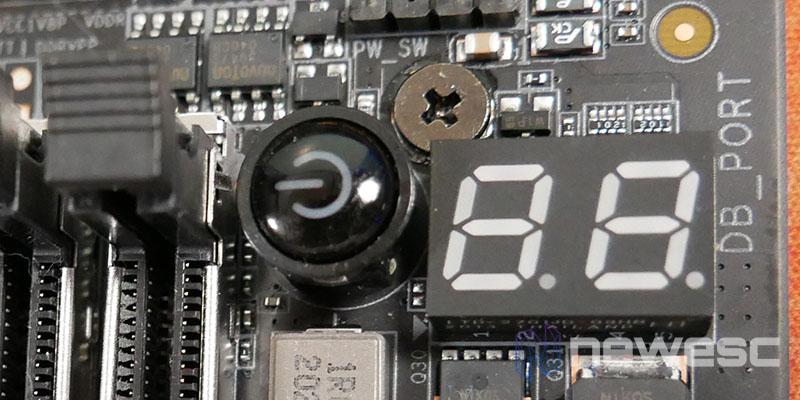 REVIEW AORUS Z590 MASTER DEBUG LED
