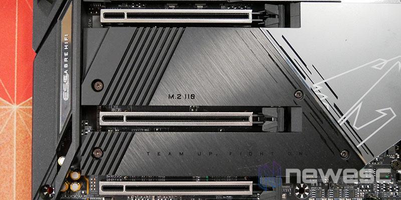 REVIEW AORUS Z590 MASTER PUERTOS PCI