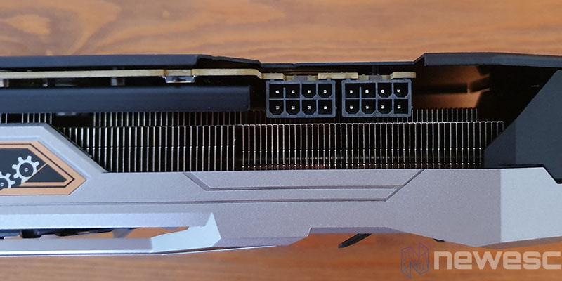 REVIEW ASROCK 5700 XT TAICHI CONECTORES PCIE