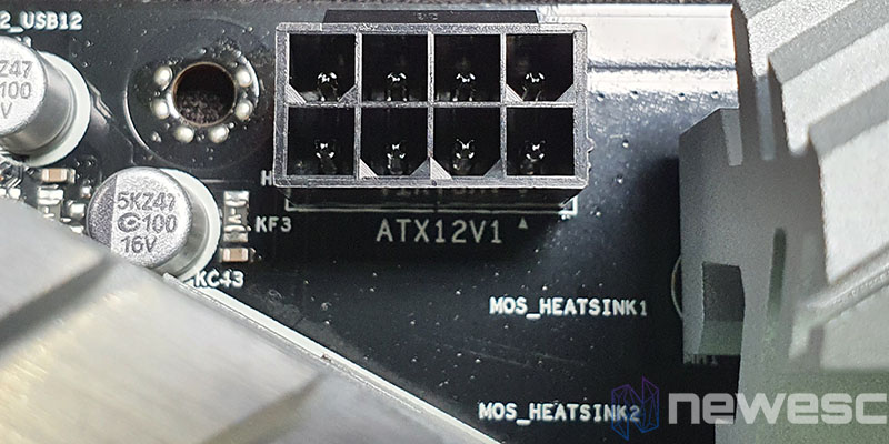 REVIEW ASROCK B460M PRO4 CONECTOR EPS