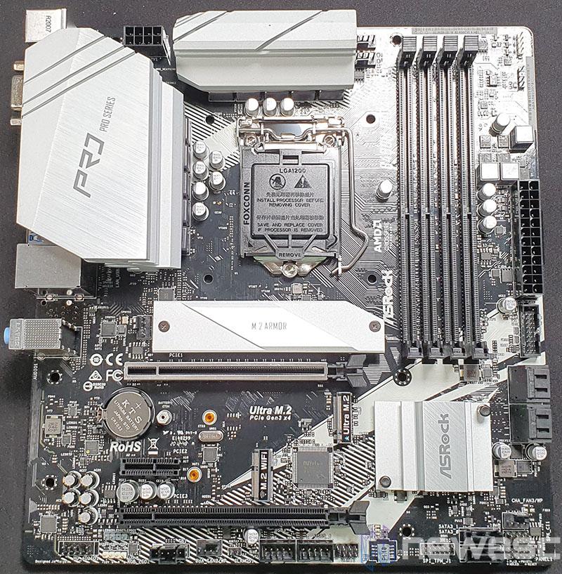 REVIEW ASROCK B460M PRO4 PCB DELANTE