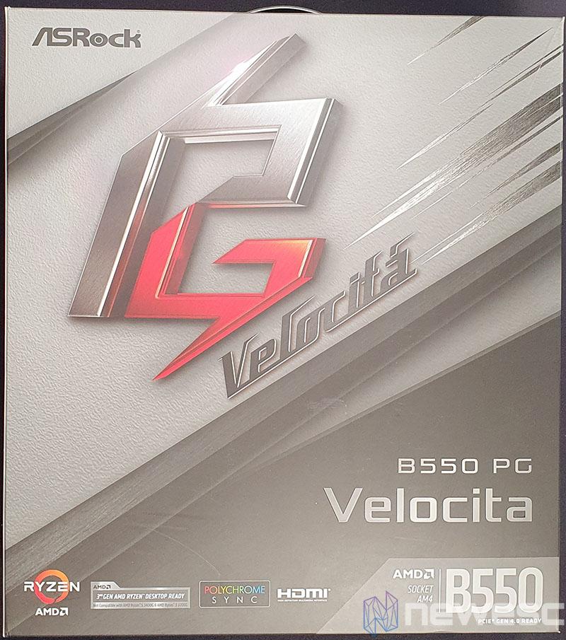 REVIEW ASROCK B550 PG VELOCITA CAJA DELANTE
