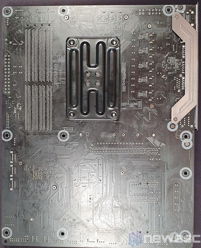 REVIEW ASROCK B550 PG VELOCITA PCB DETRAS
