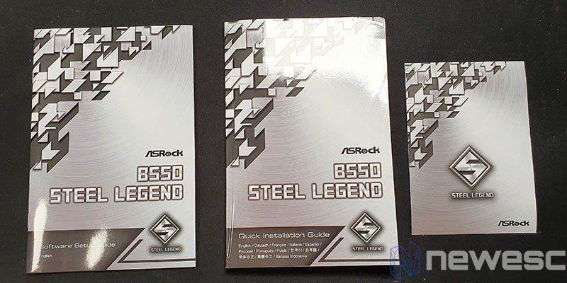 REVIEW ASROCK B550 STEEL LEGEND ACCESORIOS 2