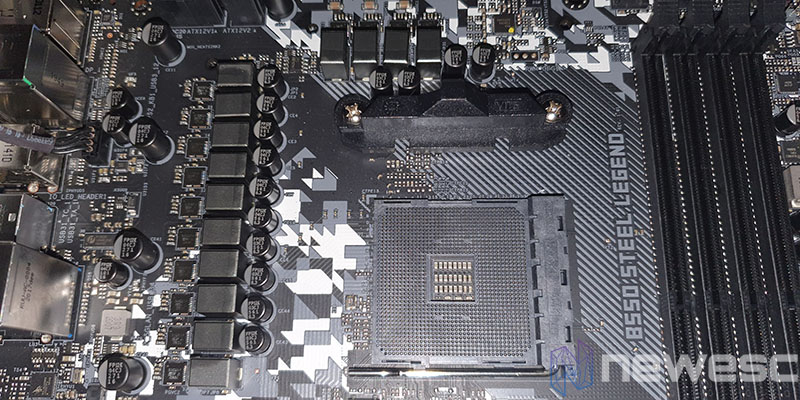REVIEW ASROCK B550 STEEL LEGEND VRM