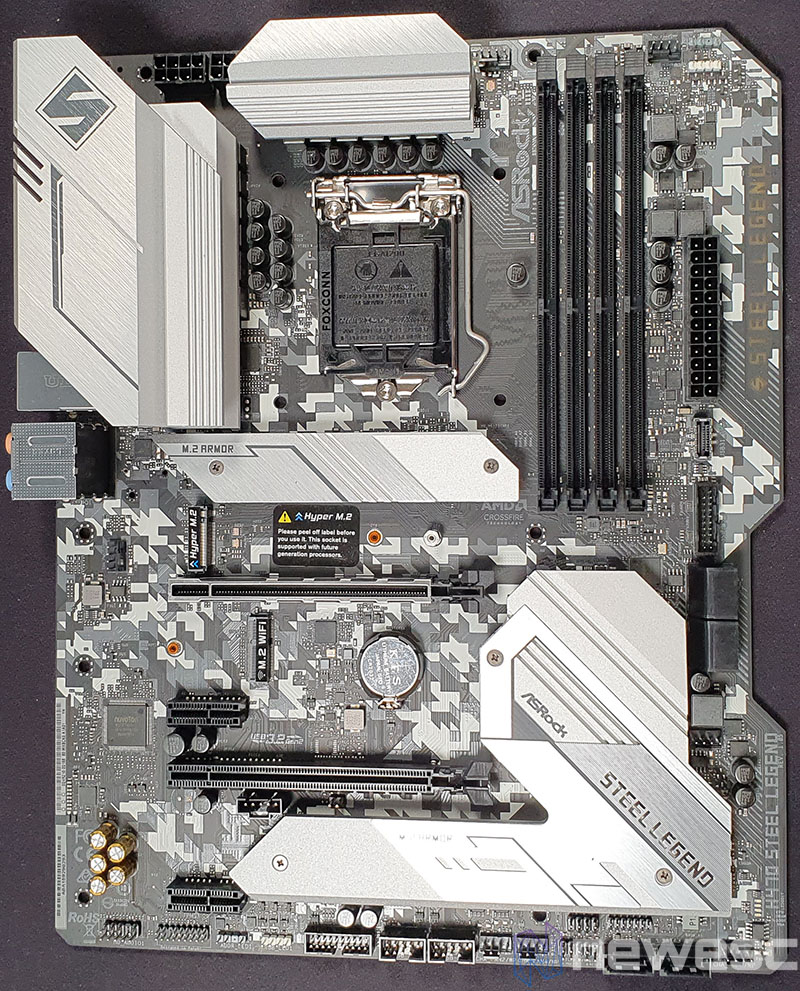 REVIEW ASROCK H470 STEEL LEGEND PCB DELANTE