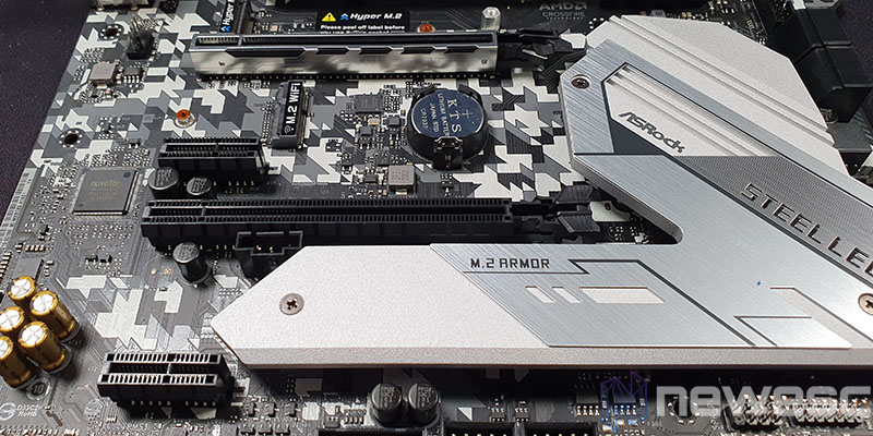 REVIEW ASROCK H470 STEEL LEGEND PUERTOS PCIE