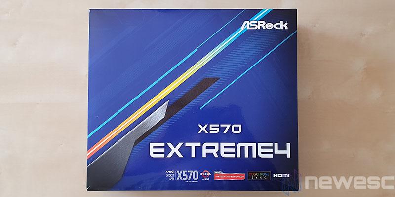 REVIEW ASROCK X570 EXTREME4 CAJA DELANTE