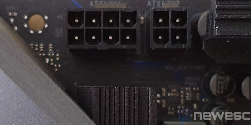 REVIEW ASROCK X570 EXTREME4 CONECTORES ALIMENTACION