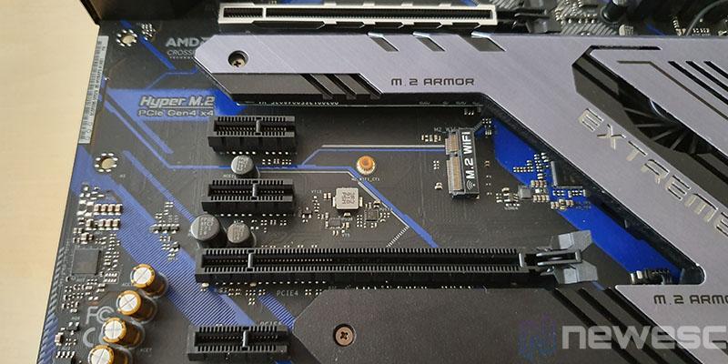REVIEW ASROCK X570 EXTREME4 PUERTOS PCIE