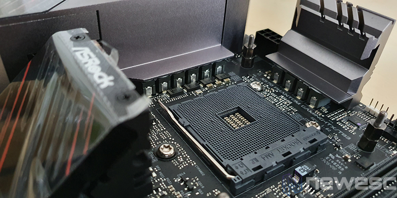 REVIEW ASROCK X570 PG ITX TB3 SOCKET Y VRM