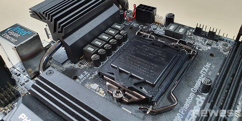 REVIEW ASROCK Z390 PHANTOM GAMING ITX AC SOCKET