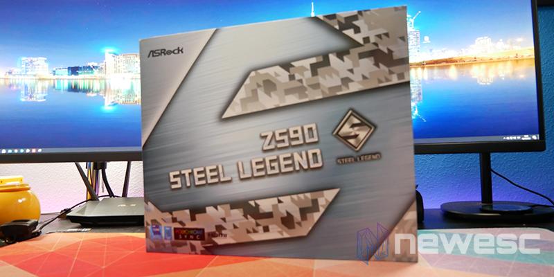 REVIEW ASROCK Z590 STEEL LEGEND CAJA DELANTE