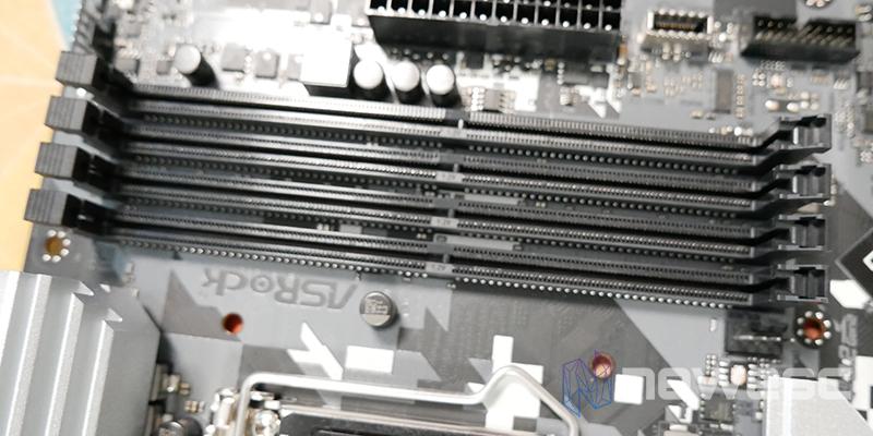 REVIEW ASROCK Z590 STEEL LEGEND PUERTOS DIMM