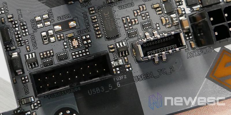 REVIEW ASROCK Z590 STEEL LEGEND PUERTOS USB 1