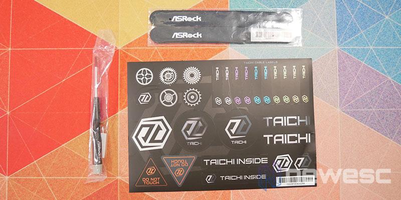 REVIEW ASROCK Z590 TAICHI ACCESORIOS 3