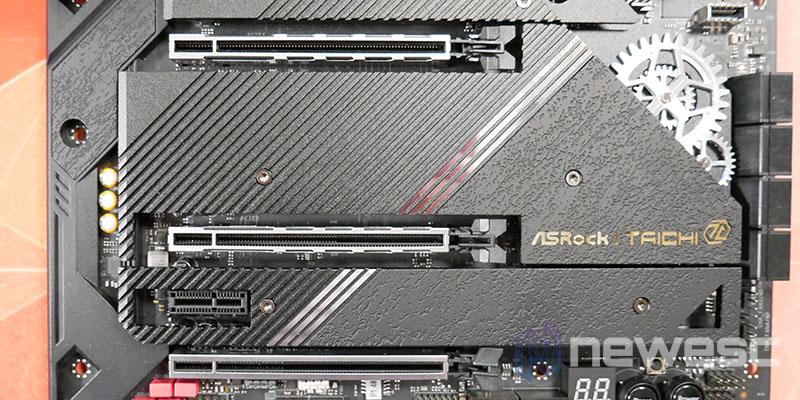 REVIEW ASROCK Z590 TAICHI PUERTOS PCIE