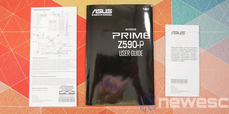 REVIEW ASUS PRIME Z590P MANUALES