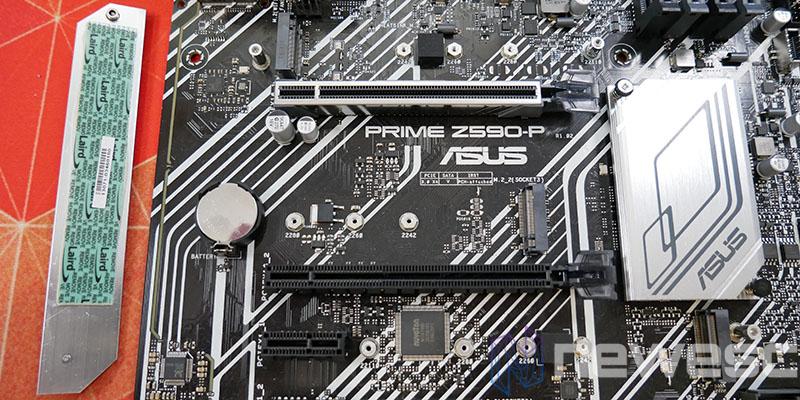 REVIEW ASUS PRIME Z590P PUERTOS M2