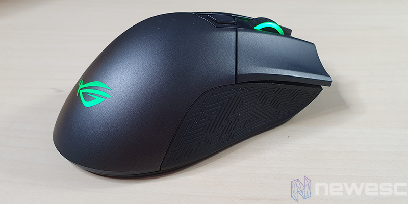 REVIEW ASUS ROG GLADIUS II WIRELESS LATERAL 2