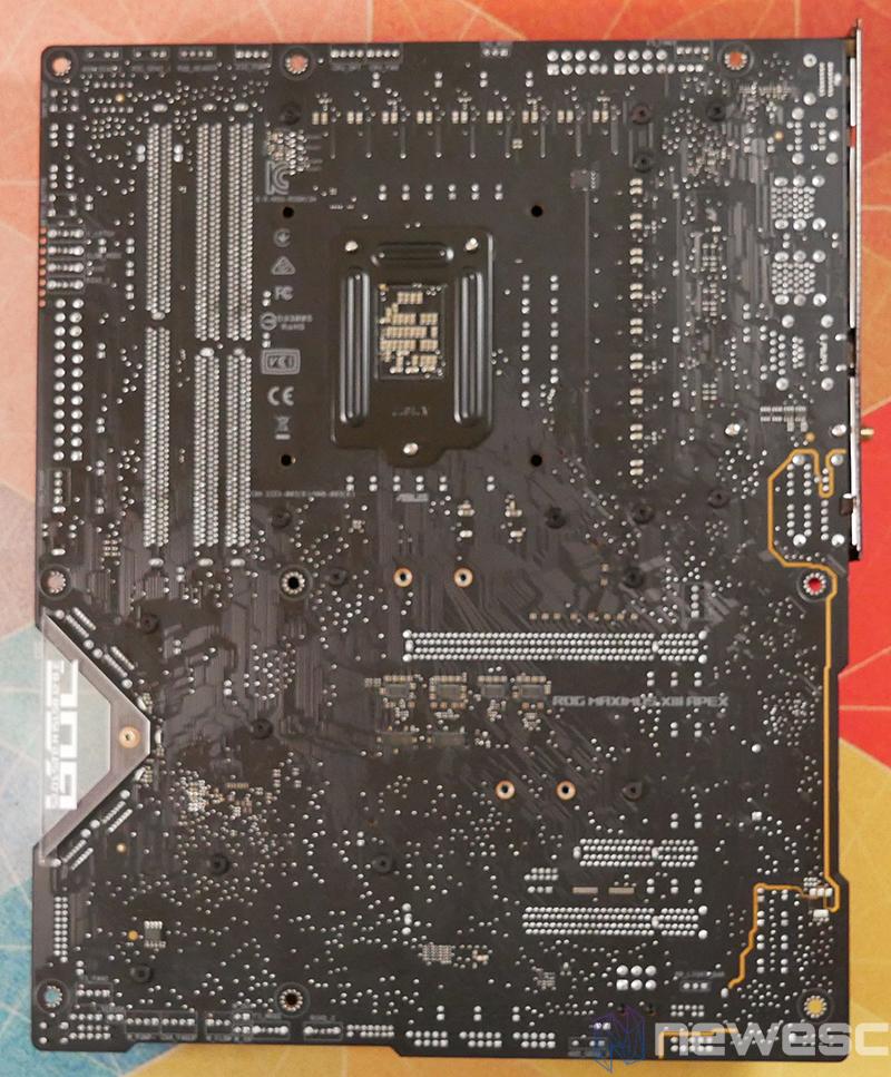 REVIEW ASUS ROG MAXIMUS APEX XIII PCB DETRAS