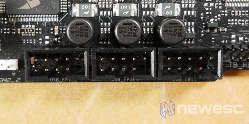 REVIEW ASUS ROG MAXIMUS APEX XIII PUERTO USB INTERNO 2