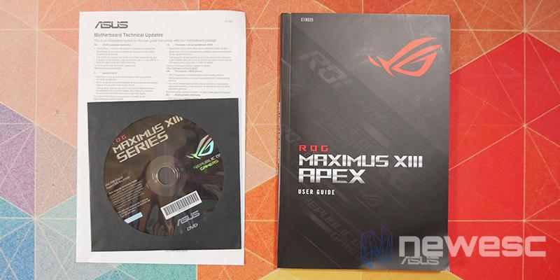 REVIEW ASUS ROG MAXIMUS APEX XIII accesorios 1