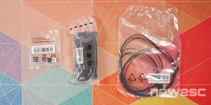 REVIEW ASUS ROG MAXIMUS APEX XIII accesorios 2
