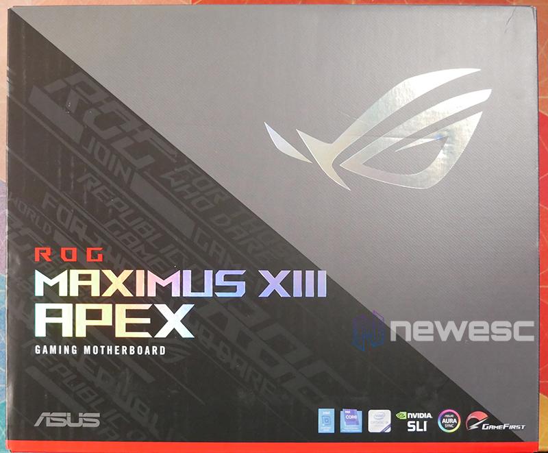 REVIEW ASUS ROG MAXIMUS APEX XIII caja delante