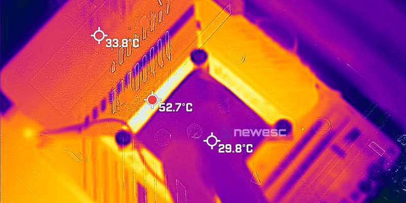 REVIEW ASUS ROG MAXIMUS APEX XIII temperaturas 1