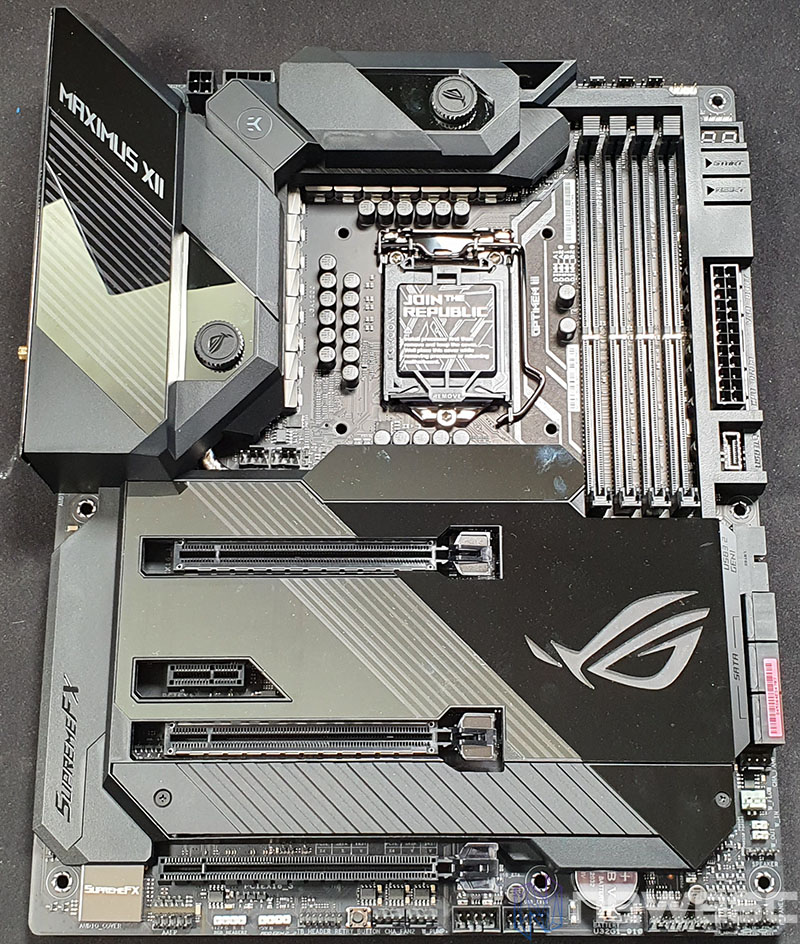 REVIEW ASUS ROG MAXIMUS XII FORMULA PLACA BASE DELANTE