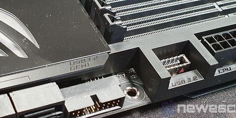 REVIEW ASUS ROG MAXIMUS XII FORMULA PUERTOS USB