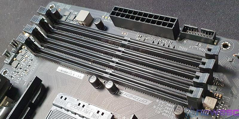 REVIEW ASUS ROG STRIX B550 E GAMING MODULOS RAM