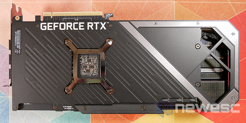 REVIEW ASUS ROG STRIX GAMING RTX 3070Ti OC BACKPLATE