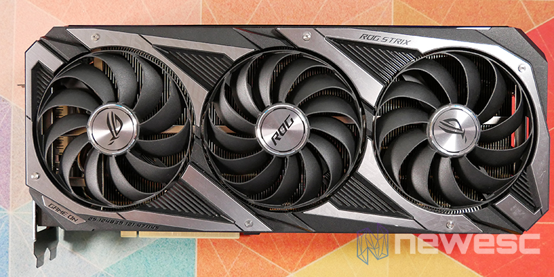 REVIEW ASUS ROG STRIX GAMING RTX 3070Ti OC FRONTAL