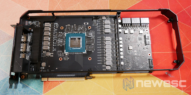 REVIEW ASUS ROG STRIX GAMING RTX 3070Ti OC PCB CON MARCO