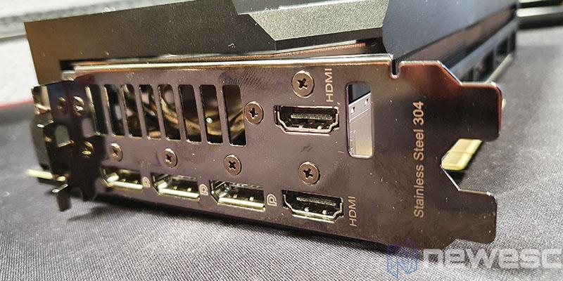 REVIEW ASUS ROG STRIX GAMING RTX 3080 OC conexiones EXTERNAS