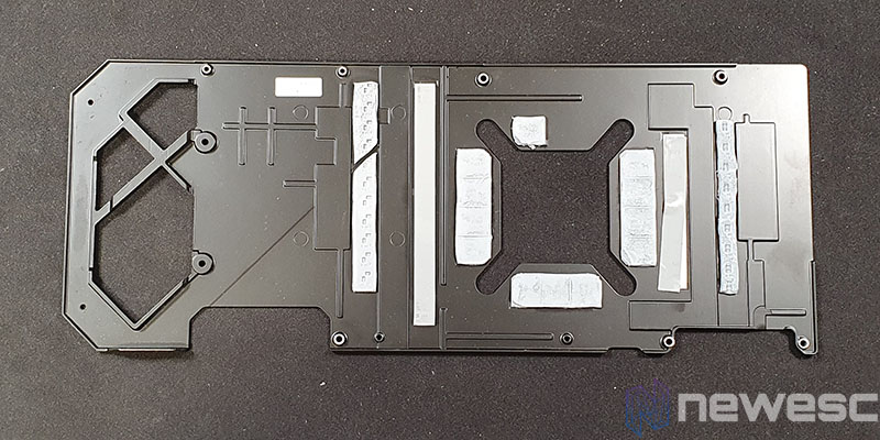 REVIEW ASUS ROG STRIX GAMING RTX 3090 OC BACKPLATE INTERIOR