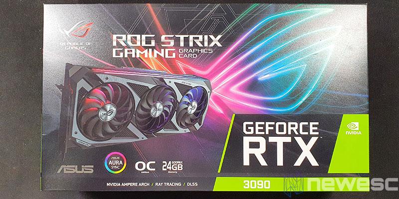 REVIEW ASUS ROG STRIX GAMING RTX 3090 OC CAJA DELANTE
