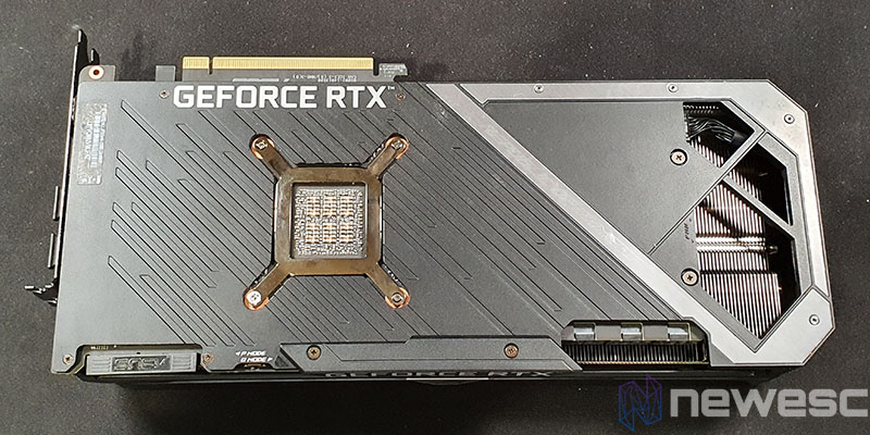 REVIEW ASUS ROG STRIX GAMING RTX 3090 OC DETRAS BACKPLATE