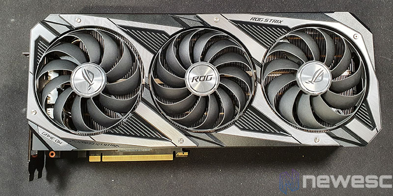 REVIEW ASUS ROG STRIX GAMING RTX 3090 OC FRONTAL