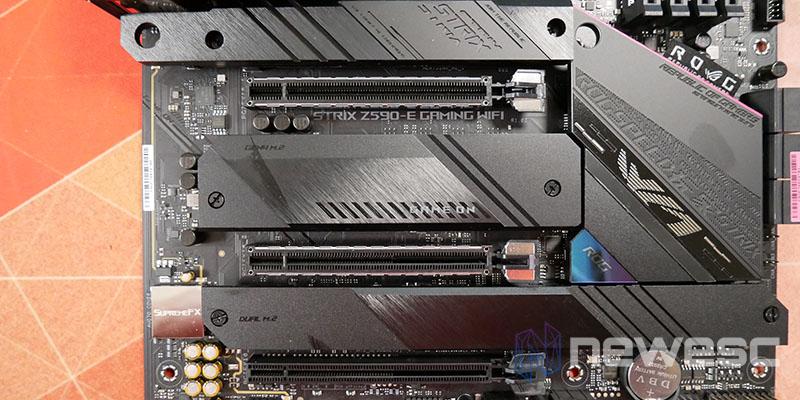 REVIEW ASUS ROG STRIX Z590E GW PCIE