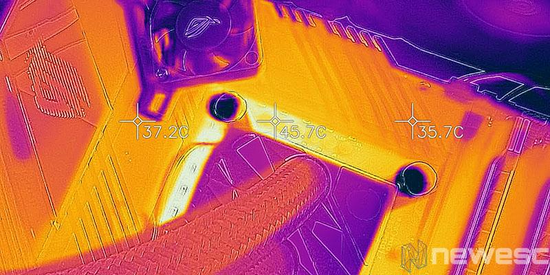 REVIEW ASUS ROG STRIX Z590E GW TEMPERATURA