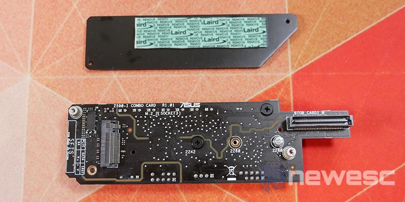 REVIEW ASUS ROG STRIX Z590I GW M2 2 disipador 1