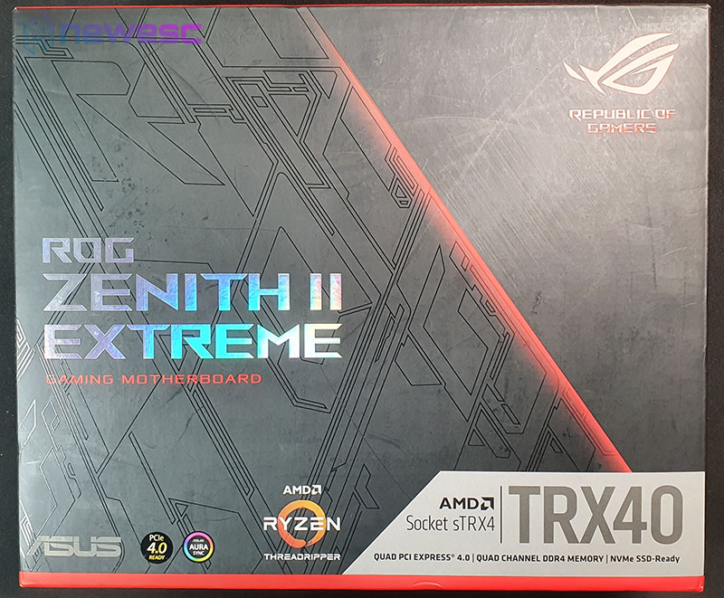 REVIEW ASUS ROG ZENITH II EXTREME CAJA