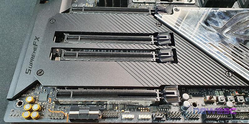 REVIEW ASUS ROG ZENITH II EXTREME PCIE Y CONEXIONES