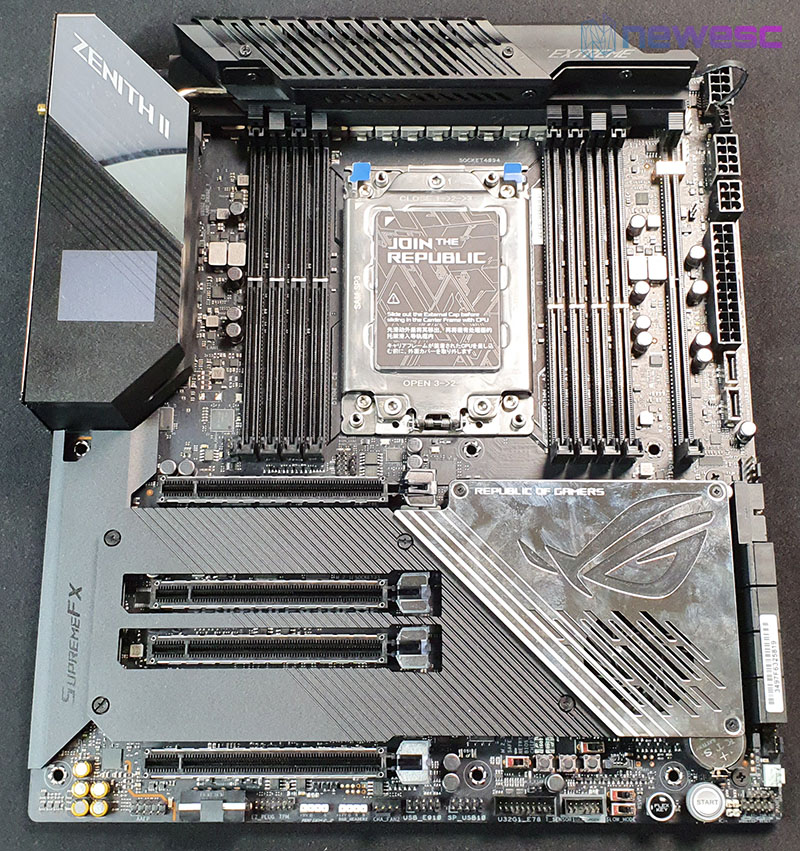 REVIEW ASUS ROG ZENITH II EXTREME PLACA BASE