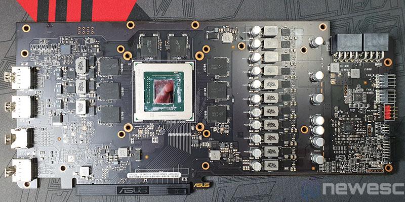 REVIEW ASUS RX 5700 XT STRIX PCB COMPLETO