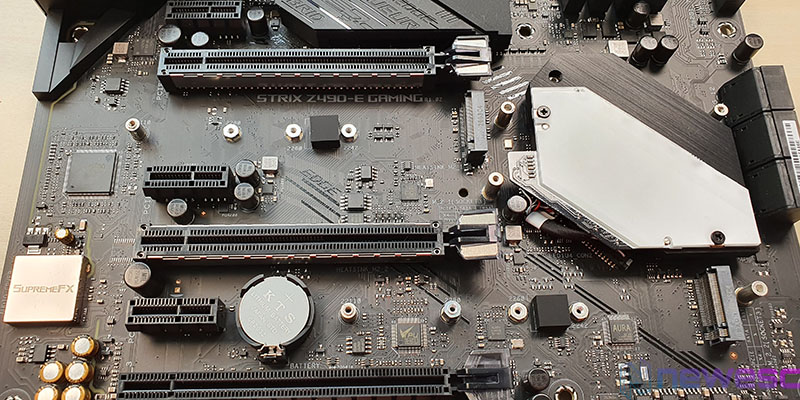 REVIEW ASUS STRIX Z490 E GAMING PCIE Y M2